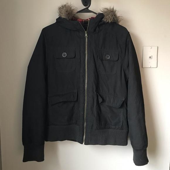 Mossimo Supply Co. Jackets & Blazers - Mossimo Women's Winter Jacket w/ fur hood